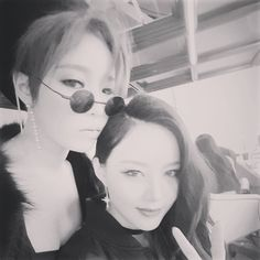 Gain and Miryo - Brown Eyed Girls Quick News, Brown Eyed Girls, Brown Eyes, Gain, Round Sunglasses, Fashion, Moda, Round Frame Sunglasses, Fasion