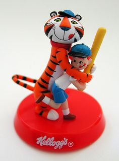 megahouse kellogg's 10 collection: tony the tiger & boy (2004) by j_pidgeon, via Flickr