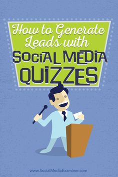 Do you want to generate more leads?  Quizzes are a great way to engage…
