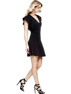 EUR89.90$  Buy now - http://vibos.justgood.pw/vig/item.php?t=6do1it4182 - FLARED DRESS