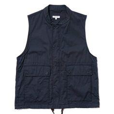 Engineered Garments Lafayette Vest - French Twill