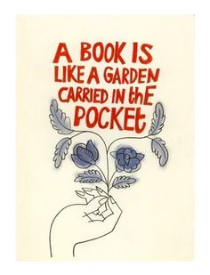 based on Chinese proverb #books #reading