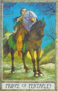 Prince of Pentacles - Druid Craft Tarot