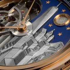 Louis Moinet Mecanograph City Louis Moinet presents Mecanograph New York and Mecanograph Doha, the first two models from Mecanograph City Limited Editions (See more at En/Fr: http://watchmobile7.com/articles/louis-moinet-mecanograph-city) #watches #montres #louismoinet