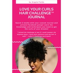 Spend 2 weeks with your custom Journal and private Facebook group. Learn the knowledge and techniques to get the curls of your dreams! Love Your Curls Hair Challenge™️ a $1550 value, for only $149! Delivered via email at purchase. No waiting required! Natural Hair Care Tips, Curly Hair Tips, Natural Hair Styles, Chemical Burn Treatment, Curls Hair, 4c Hair, Hair Porosity, Custom Journals, Types Of Curls