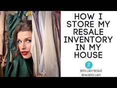 Reselling inventory can be a tough thing store in your home, especially in a small space. I show you how I store hundreds of items in my small apartment. Ebay Selling Tips, Selling Online, Show Me The Money, How To Make Money, Do The Hustle, Red Apple Lipstick, Suede Cleaner, Management Tips, Sales Management