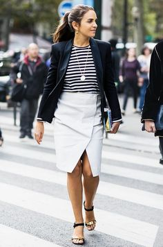 Parisienne: Non-Basic Pencil Skirts Your Closet Need