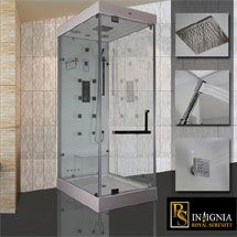 insignia rs100 steam shower cabin limited edition rs100