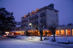 Strandhotel Heringsdorf im Winter