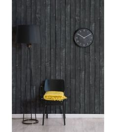 This 'Black Wooden Boards' wallpaper would look chic inside your lounge room. Wooden Accent Wall, Wooden Walls, Wooden Boards, Look Wallpaper, 3d Wallpaper For Walls, Brick Wallpaper, Boutique Wallpaper, Wallpaper Manufacturers, Commercial Wallpaper