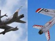 Republic F-105B/D Thunderchief Fighter-Bomber Free Aircraft Paper Model Download