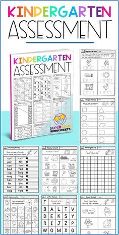 Free Kindergarten Assessment