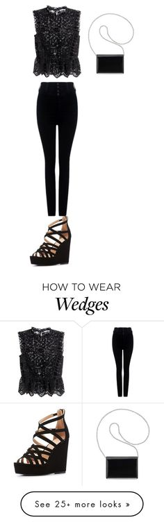 """""""Без названия #1125"""" by gazieva-dinara on Polyvore featuring H&M, Citizens of Humanity, Charlotte Russe and Nine West"""