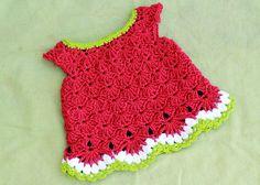 Little White Dress By SarahSweethearts - Free Crochet Pattern - (ravelry)