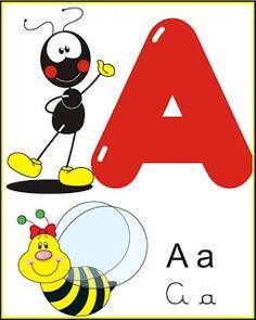 cartazes alfabeto smilinguido