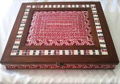 تطريز فلسطيني صندوق Palestinian embroidery