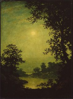 Moonlight Sonata - Ralph Albert Blakelock | Museum of Fine Arts, Boston