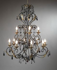 Wrought Iron Chandelier What An Amazing Piece Decor Chandeliers