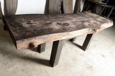 Old, solid, characteristic, handmade, stylish. T. Riverwood furniture collection - Bog Oak 800 – 6500 years old