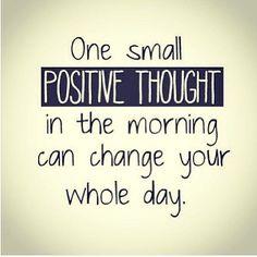 Think positive. #TuesdayMotivation #Positivethinking #Morning #Positive