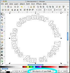Circular text in WordArt in MS Word (used to be much easier than it is now). Tutorial shows you how to export to import into Design Space Silhouette Cutter, Silhouette School, Silhouette Machine, Silhouette Design, Silhouette America, Silhouette Files, Inkscape Tutorials, Cricut Tutorials, Silhouette Cameo Tutorials