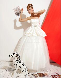 Bowknot Wedding Dresses 2013 Summer Floor Length