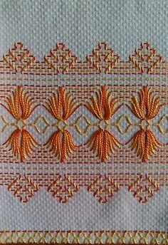 Embroidery Patterns Free it is Embroidery Machine Brother its Hand Embroidery Brazilian Embroidery Flowers lot Embroidery Thread Cards whether Embroidery Designs For Kitchen Towels Swedish Embroidery, Hardanger Embroidery, Hand Embroidery Stitches, Embroidery Techniques, Ribbon Embroidery, Cross Stitch Embroidery, Cross Stitch Patterns, Tambour Embroidery, Embroidery Alphabet