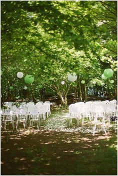 Outdoor wedding ceremony ideas on French Wedding Style/  Photography © Celine Chhuon