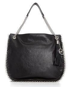 MICHAEL Michael Kors Handbag, Chelsea Chain Link Large Shoulder Bag