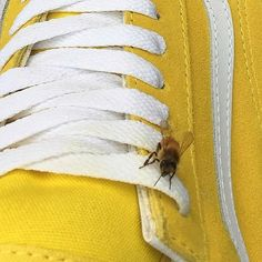 Save the bees ! Vaporwave, Aesthetic Colors, Aesthetic Yellow, Aesthetic Pics, Arte Popular, Yellow Painting, Save The Bees, Happy Colors, Mellow Yellow