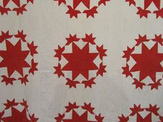 Quilts In The Barn: A few Antique quilts from Houston.