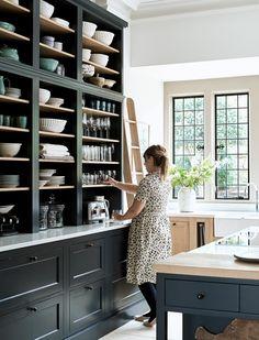 Home Interior Salas .Home Interior Salas Kitchen Pantry, New Kitchen, Kitchen Dining, Kitchen Decor, Kitchen Shelves, Kitchen Utensils, Kitchen Ideas, Home Interior, Kitchen Interior