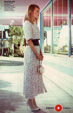 エマ・ストーン for Vogue USA May 2014