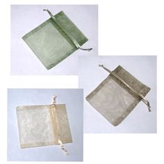 Items similar to 30 Natural Forest Colors Organza Bags 3 in x 4 in 3 Colors on Etsy Forest Color, Rice Bags, Jewelry Gifts, Unique Jewelry, Organza Gift Bags, Craft Supplies, Wedding Ideas, Candy, Weddings