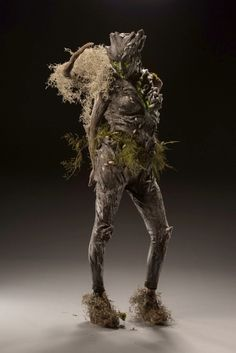 - Spotlight Challenge: Twisted Trees - Drew and Cig Forest Creatures, Woodland Creatures, Fantasy Creatures, Face Off Makeup, Fx Makeup, Fantasy Forest, Fantasy Art, Mythology Costumes, Face Off Syfy