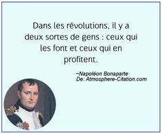 Dans les révolutions, il y a deux sortes de gens : ceux qui les font et ceux qui en profitent.  Trouvez encore plus de citations et de dictons sur: http://www.atmosphere-citation.com/populaires/dans-les-revolutions-il-y-a-deux-sortes-de-gens-ceux-qui-les-font-et-ceux-qui-en-profitent.html?