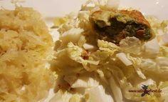 Was koche ich heute? Maultasche und Sauerkraut!