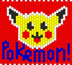Pikachu Panel Bead Pattern