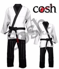 COSH International High Quality 100% Cotton BJJ Brazilian Jiu Jitsu Gi Kimonos ,Uniforms Suits Supplier CI- BJJ-7944 -F