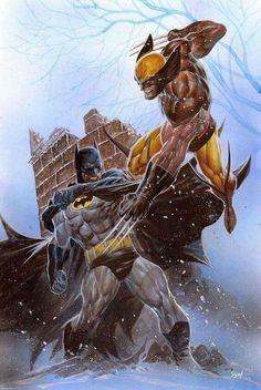 The Legendary Dark Knight Vs The Legendary Assassin Weapon X