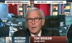 Brokaw: If GOP Wins Senate, 'What Are They Prepared to Give to the Democrats?' ~ I can't seem to recall Tom Brokaw asking what the Senate democrats were prepared to give the GOP two years ago.