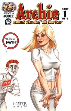 Archie Comic by Joseph Linsner