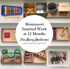 Montessori Inspired Work at 12 Months--TMM