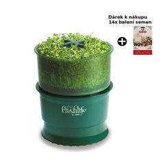 Grow your own sprouts right in your own home with the Tribest Automatic Sprouter. Just plug the machine in, switch on, add seeds, and in 5 to 8 days you'll be enjoying your fresh organically-grown sprouts, without the use of. Growing Wheat Grass, Automatic Watering System, Sprouting Seeds, Grow Organic, Organic Gardening, Hydroponic Gardening, Urban Gardening, Urban Farming, Technology