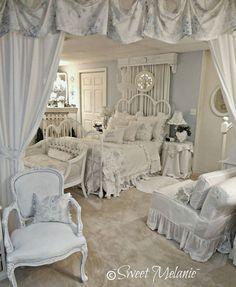 Romantic Bedroom Furnishing.