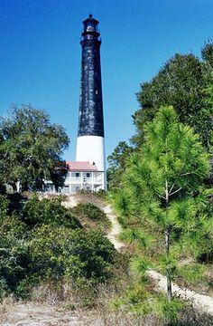 Pensacola Lighthouse, Florida at Lighthousefriends.com