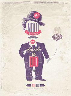 Now | #illustration #poster #design