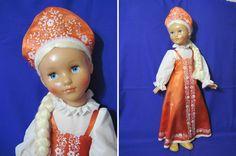 USSR doll Vasilissa, 76 cm