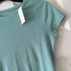 Ann Taylor Blue Tee Brand New Blue Tee never worn. Smoke Free. No Trades Ann Taylor Tops Tees - Short Sleeve