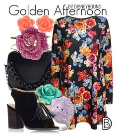 """""""Golden Afternoon"""" by leslieakay ❤ liked on Polyvore featuring Bling Jewelry, Pilot, Amrita Singh, Swarovski, Miss KG, women's clothing, women, female, woman and misses"""